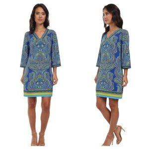Laundry by Shelli Segal Paisley Print Tunic Dress